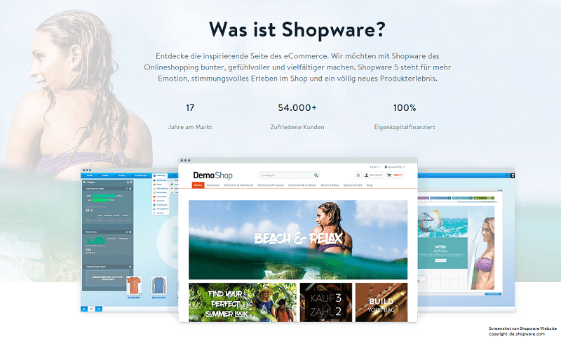 Some insights on Shopware platform